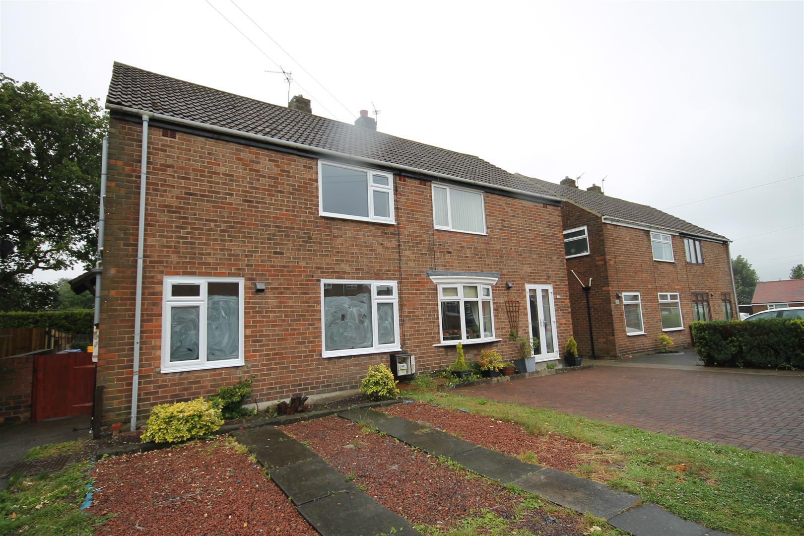 2 Bedrooms Semi Detached House for sale in Quarry Crescent, Bearpark, Durham